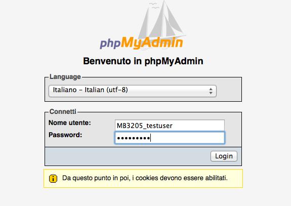 phpMyAdmin-login-no-istanza