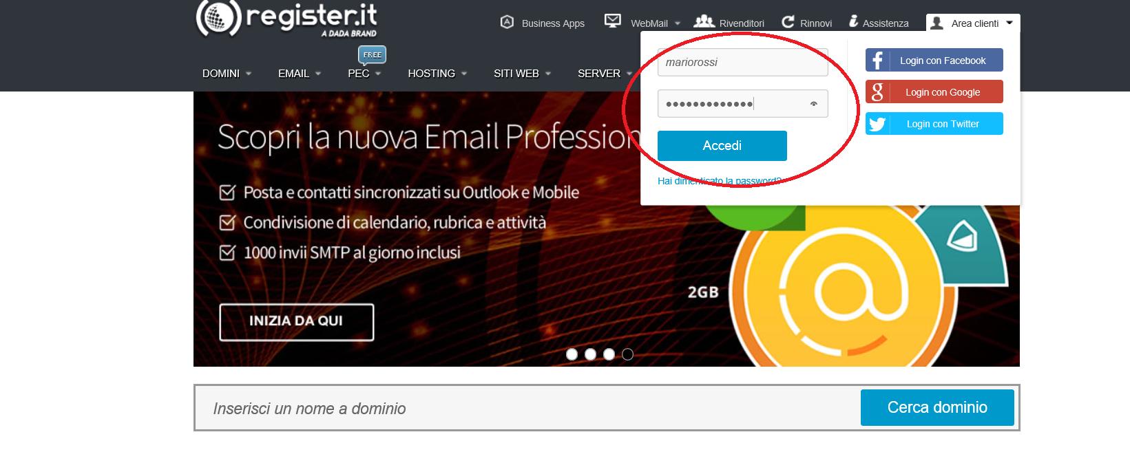 register_accesso_clienti